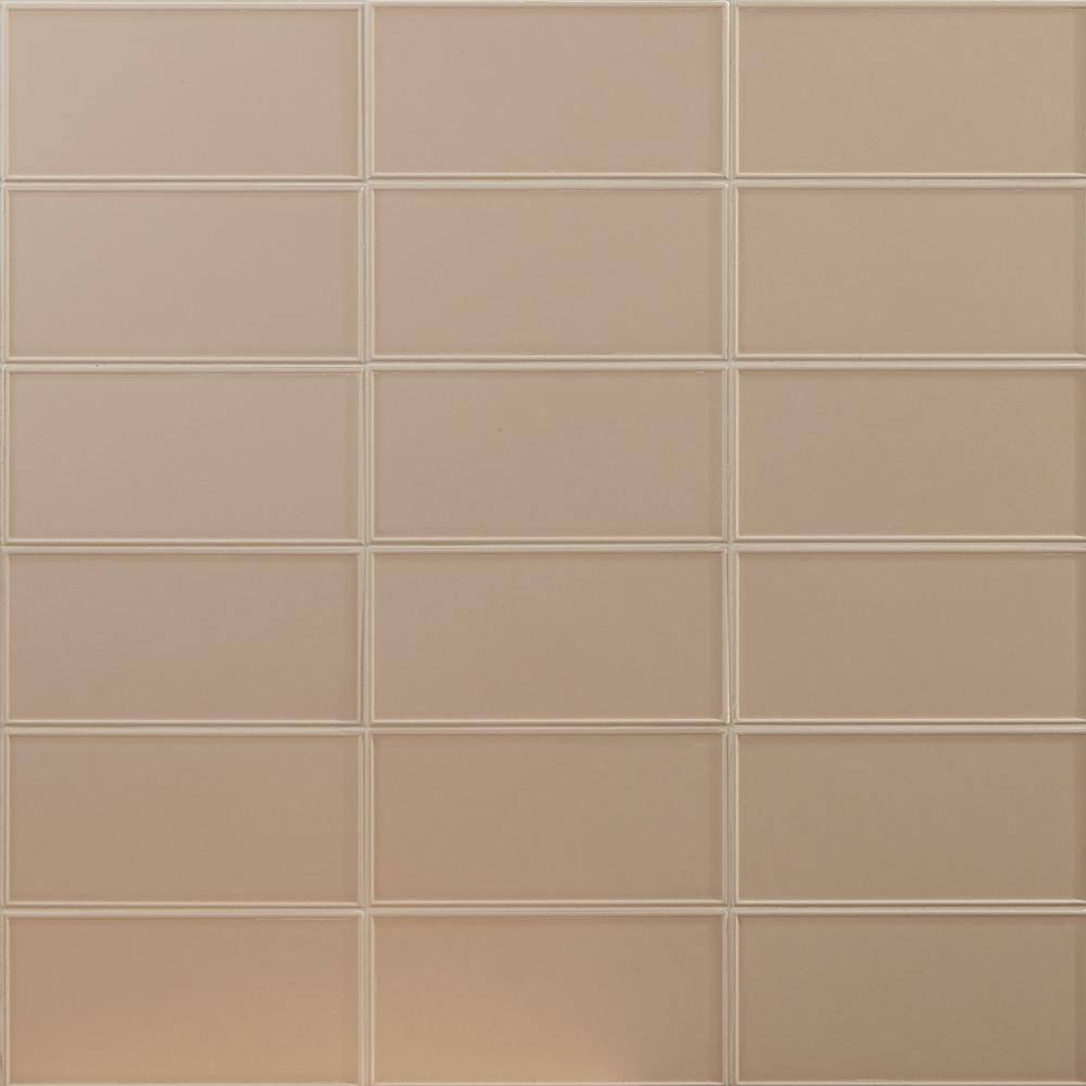 Ivy Hill Tile Tori Border Ivory 8 In X