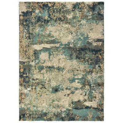 Braxton Multi 7 ft. 10 in. x 10 ft. Abstract Area Rug