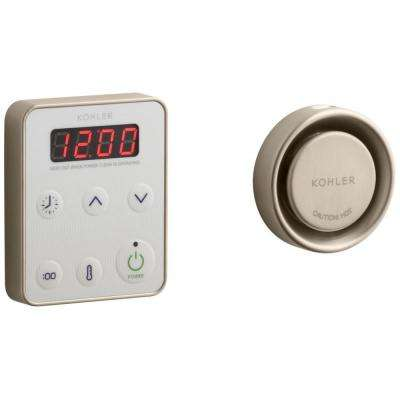 Fast Response 15kW Steam Bath Generator Control Kit in Oil Rubbed Bronze