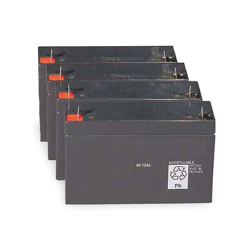 Lithonia Lighting Emergency Light Battery: Lithonia Lighting ELB 1224B 12-Volt Emergency Replacement