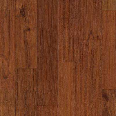 Take Home Sample - Fairview Sunset American Cherry Laminate Flooring - 5 in. x 7 in.