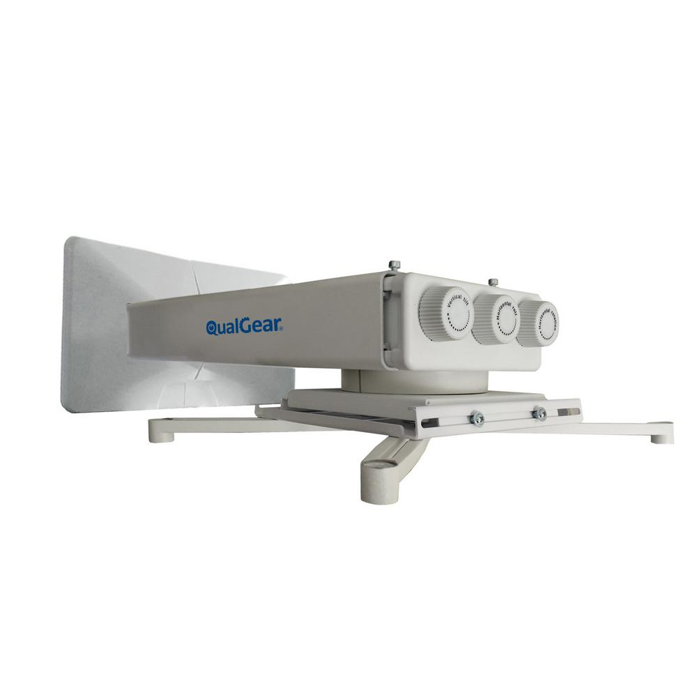 Qualgear Universal Projector Wall Mount With Fine Tune