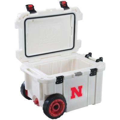 45 Qt. University of Nebraska Cornhuskers Elite Wheeled Cooler
