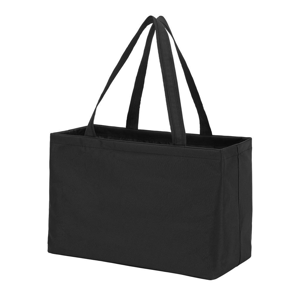 Black Polyester Ultimate Tote Bag