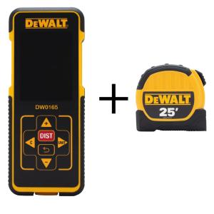 DEWALT 165 ft. Laser Distance Measurer w/ Color Screen Deals