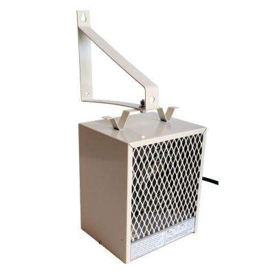 4,000-Watt Fan Forced Wall or Ceiling Mounted Garage and Shop Heater