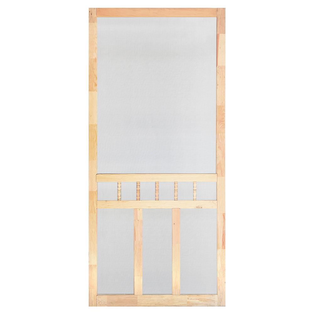 Bon 32 In. X 80 In. Wood Classic Screen Door