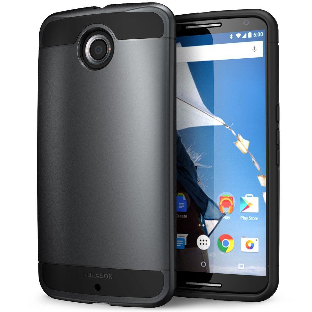 Unicorn Beetle Hybrid Bumper Case for Google Nexus 6, Black/Black