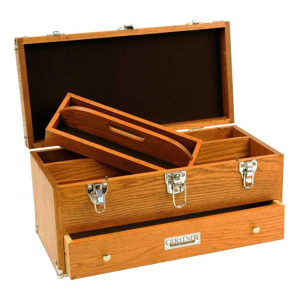 Gerstner International Large Red Oak Carry Case