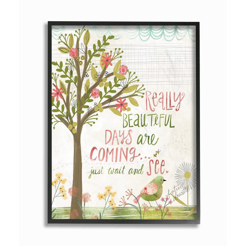 The Stupell Home Decor Collection 11 In X 14 In Pink And Green