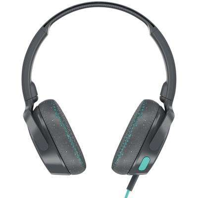 Riff On-Ear Wired Headphones with Microphone in Gray