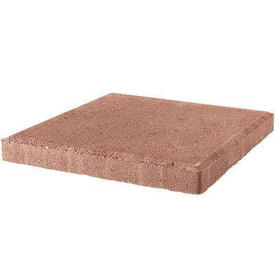 18 in. x 18 in. x 1.75 in. River Red Square Concrete Step Stone (56-Piece/129 sq. ft./Pallet)