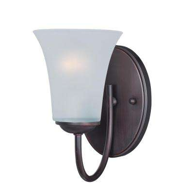 Logan 1-Light Oil Rubbed Bronze Wall Sconce