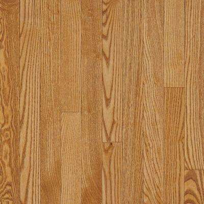 American Originals Spice Tan Oak 3/8 in. Thick x 5 in. Wide x Varied Lng Eng Click Lock Hardwood Floor (22 sq.ft./case)