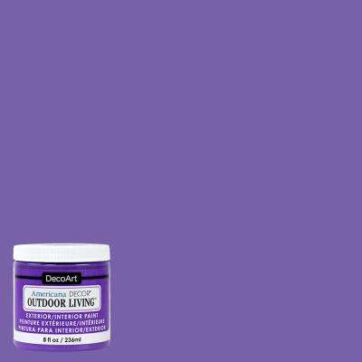 Outdoor Living 8 oz Pansy Acrylic Paint