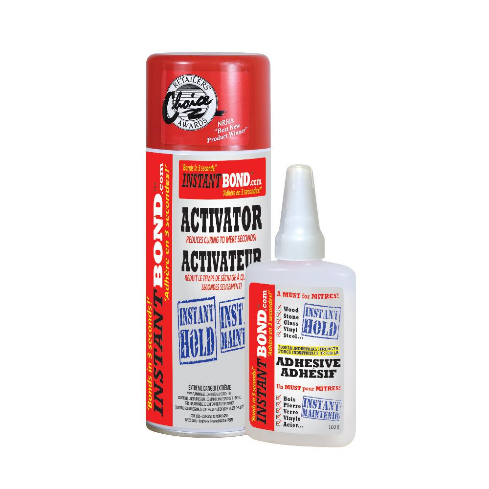 100 g/400 ml Clear World's Fastest Instant Adhesive and Cyanoacrylate Glue