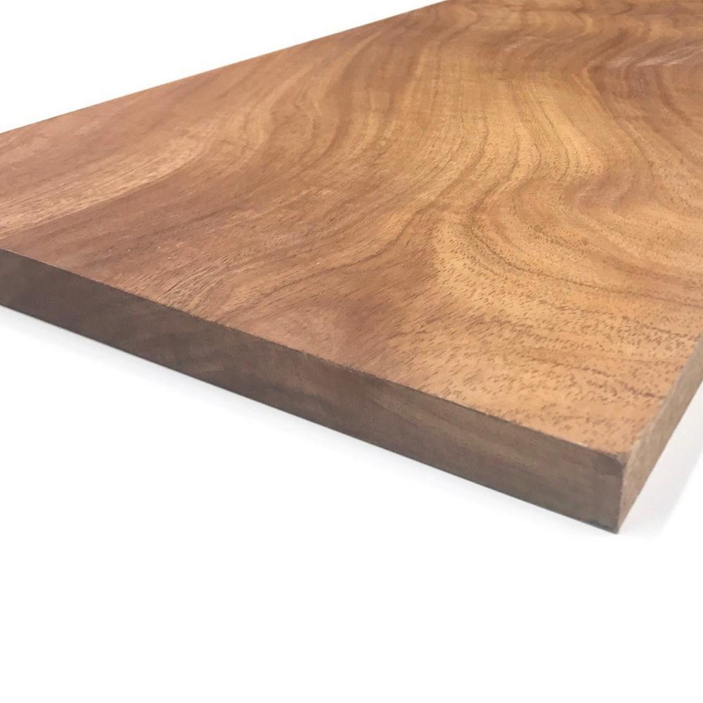 Swaner Hardwood 1 in. x 12 in. x Random Lengths S4S African Mahogany Board