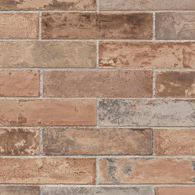 Red Realistic Pre-Pasted Brick Wallpaper