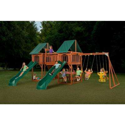 Sequoia Wooden Complete Playset