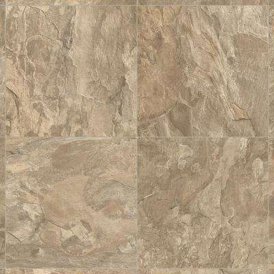 Take Home Sample Earthly Strike Residential Vinyl Sheet Flooring 6 In X 9