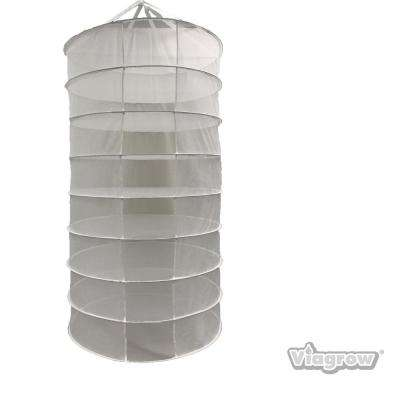 8-Layer 35 in. x 63 in. Herb Drying Mesh Rack