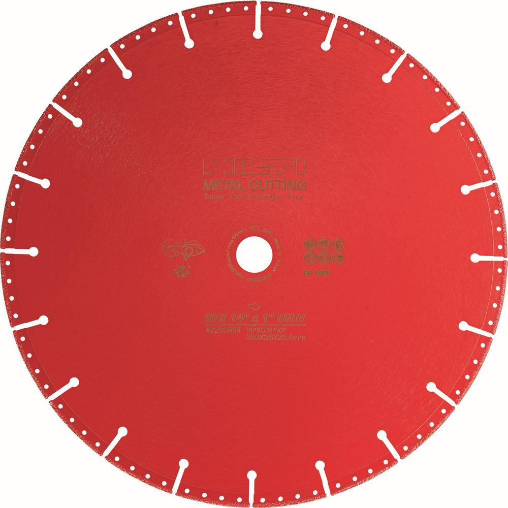 Hilti 14 inch x 1 inch SPX Diamond Metal Cutting Blade
