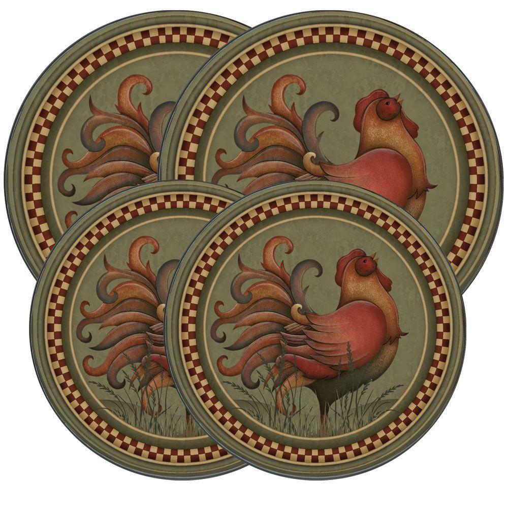 Rooster Round Burner Kovers