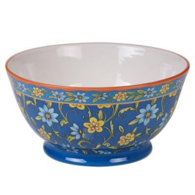 Torino Multi-Colored 10 in. Deep Bowl