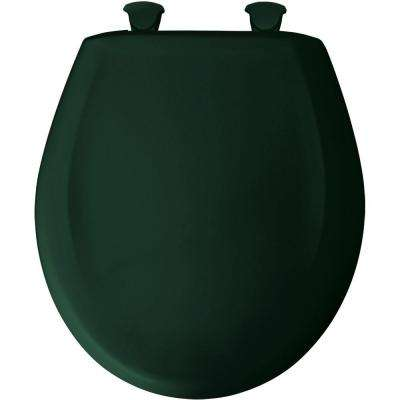 Round Closed Front Toilet Seat in Timberline
