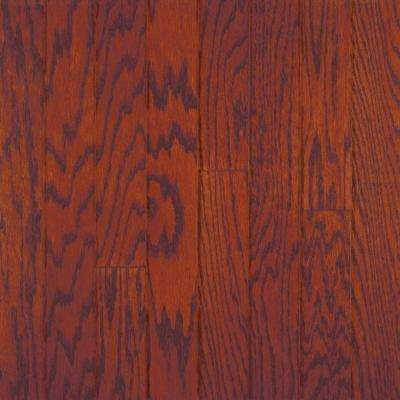 Oak Bordeaux 3/8 in. Thick x 4-1/4 in. Wide x Random Length Engineered Click Wood Flooring (20 sq. ft. / case)