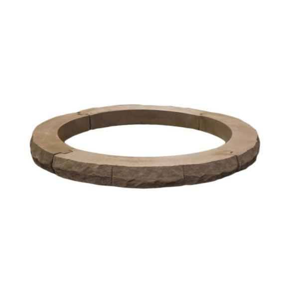 Ledgestone 42 in. Brown Fire Pit Additional Layer Kit