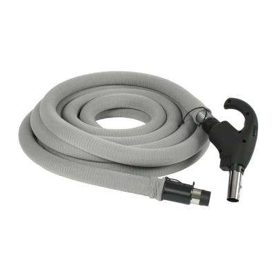35 ft. Low Voltage Hose with Hose Sock for Central Vacuums