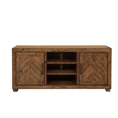 Huntington Natural 65 in. W TV Stand Fits TV's up to 70 in .