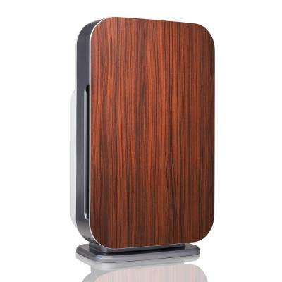 Customizable Air Purifier with HEPA-Pure Filter to Remove Allergies and Dust in Rosewood