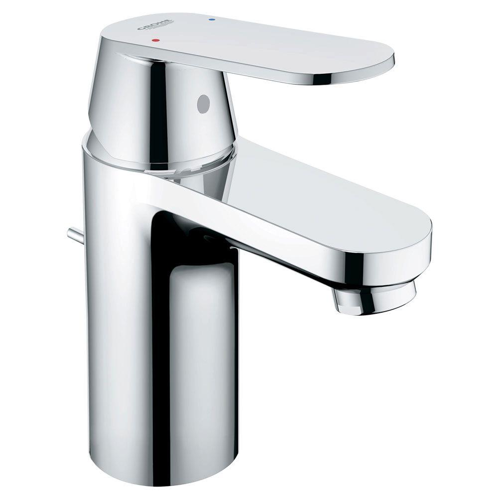 grohe bathroom sink faucets grohe eurosmart cosmopolitan single single handle 18628