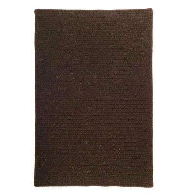 Courtyard Cocoa 2 ft. x 4 ft. Braided Area Rug