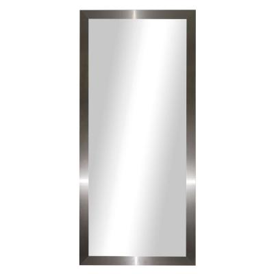 70.5 in. x 31.5 in. Stainless Silver Full Body/Floor Length Vanity Mirror