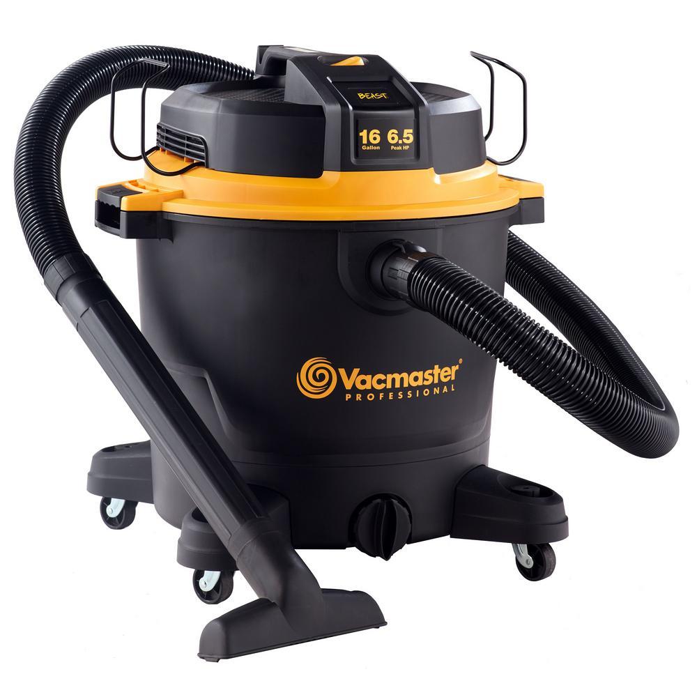 Vacmaster Vacmaster Beast Professional Series 16 Gal. 6.5 HP Wet/Dry Vacuum, Blacks
