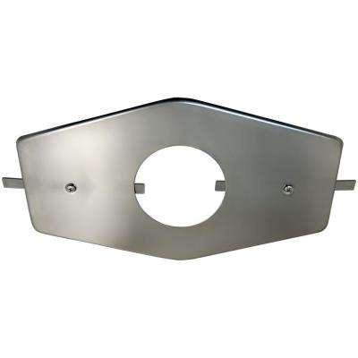 I.D. Single Handle Stainless Steel Repair Plate With