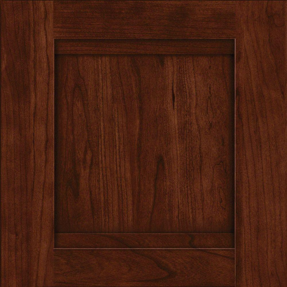 Kraftmaid 15x15 In Cabinet Door Sample Sonora Cherry With Kaffe