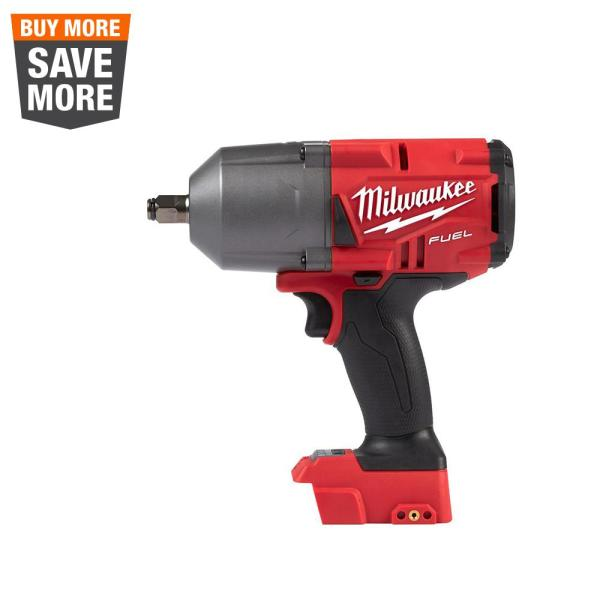 M18 FUEL 18-Volt Lithium-Ion Brushless Cordless 1/2 in. Impact Wrench with Friction Ring (Tool-Only)
