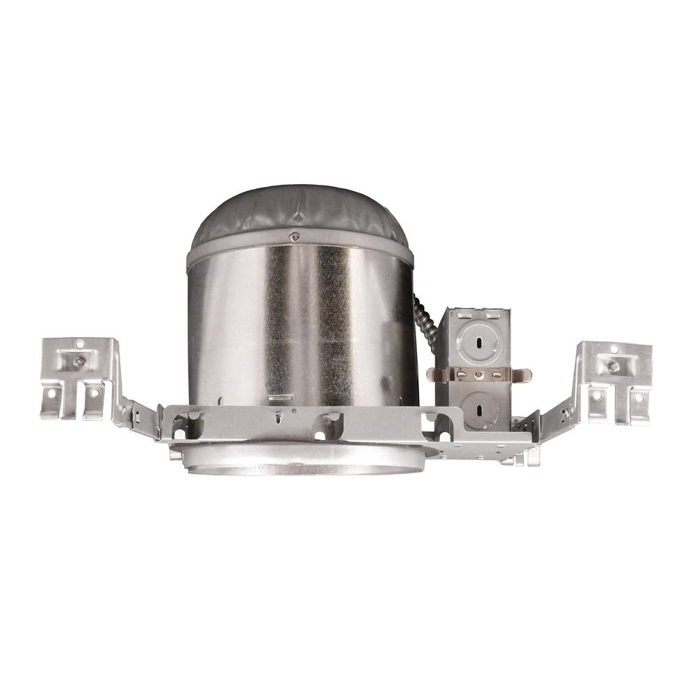 null NICOR 6 in. Recessed IC Rated Airtight Housing