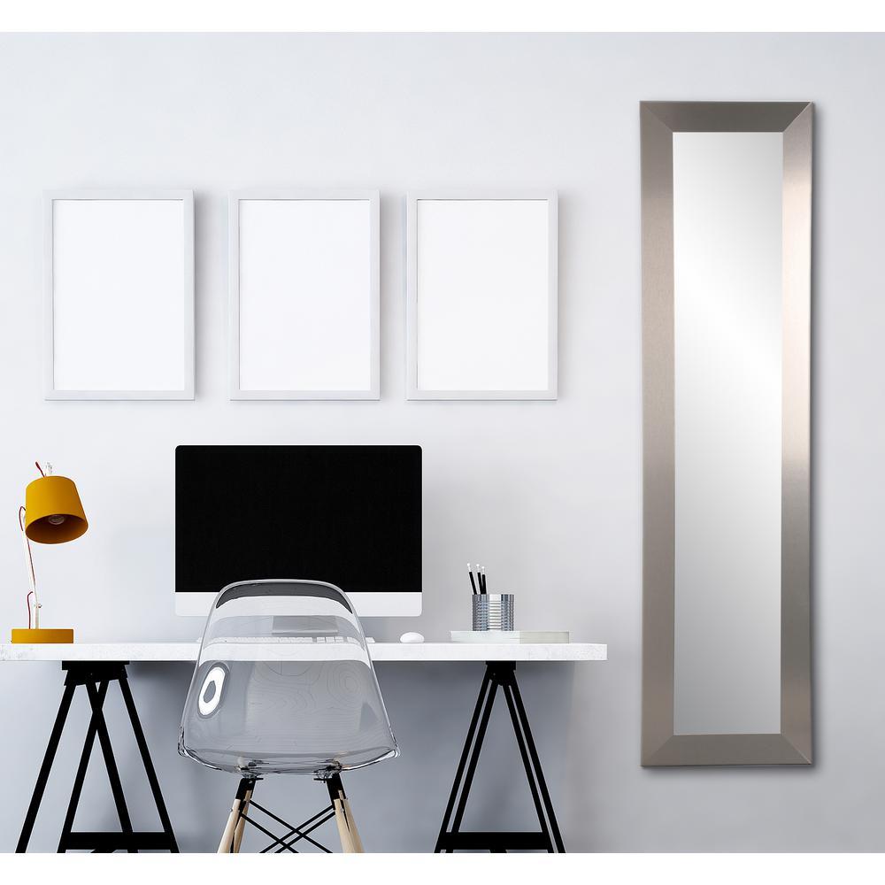 8b1af3e80c97 BrandtWorks Industrial Modern Slim Floor Mirror-BM78SLIM - The Home ...