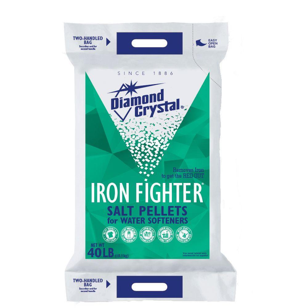 Diamond Crystal Iron Fighter Water Softener Salt Pellets-100012466 ...