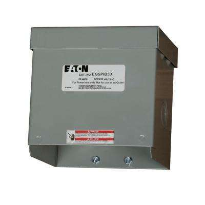 30 Amp Power Inlet Box