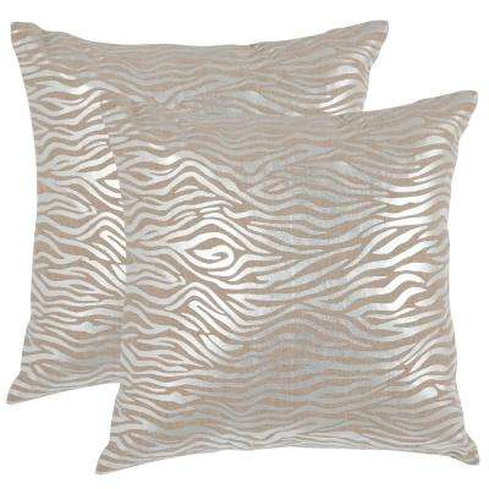 Demi Metallics Pillow (2-Pack)