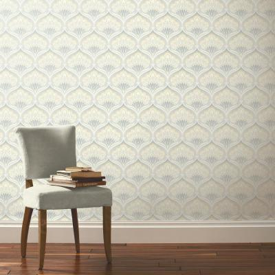 Pavonis Beige Mothball Un-Pasted Wallpaper