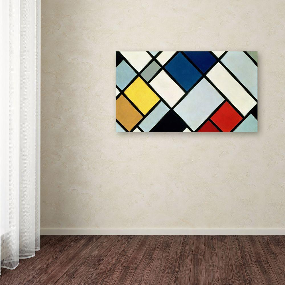 24 in. x 47 in. Abstract IV Canvas Art