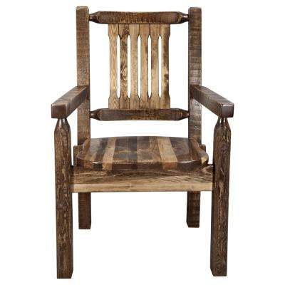 Homestead Collection Early American Captains Chair