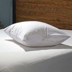 Luxury Cotton Breathable Zippered Standard/Queen Pillow Protector (2-Pack)